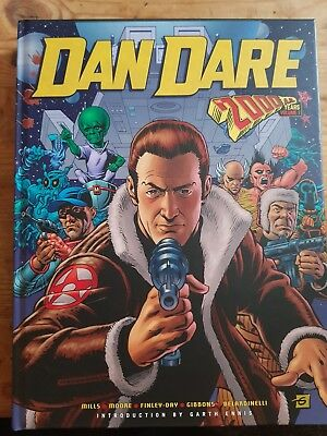 Dan dare the 2000ad years hardback graphic novel