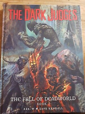 The dark judges the fall of deadworld hardback graphic novel from 2000ad