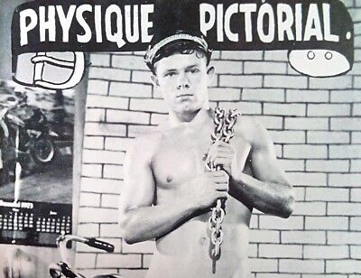 Physique pictorial 24 vintage Gay interest magazine