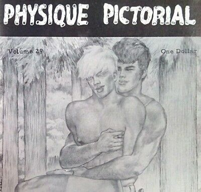 Physique Pictorial 29 vintage Gay interest magazine