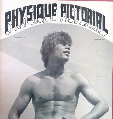 Physique Pictorial 31 vintage Gay interest magazine
