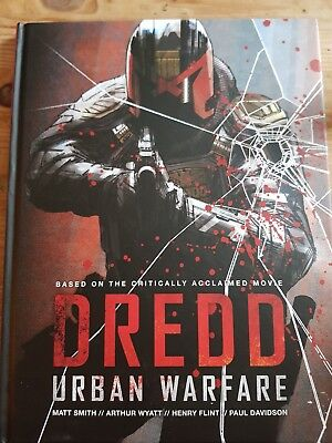 Judge dredd urban justice hardback graphic novel from 2000ad