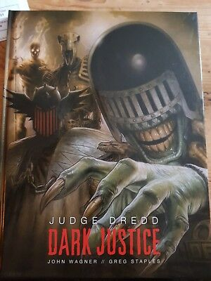 Judge dredd dark justice hardback graphic novel from 2000ad