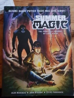 Summer magic the complete journey of luke kirby graphic novel from 2000ad