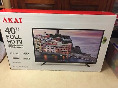 Akai 40 Full Hd Tv With Built In Dvd Player 30000 Picclick Au