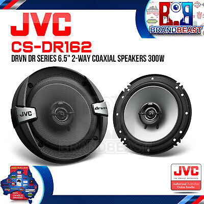 "JVC CS-DR162 DRVN DR Series 6.5"" 300W 2-Way Coaxial Speakers"