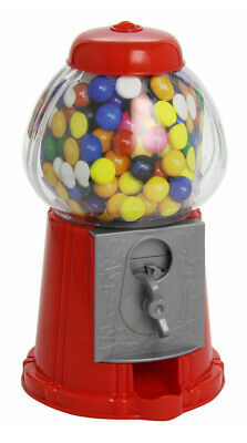 Gumball Dispenser Machine Toy Bubble Gum Bag Included Coin Operated Bank New 90g