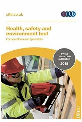 🚜 CSCS Card Test Book Health and Safety for Operatives and Specialists 2018 🚜