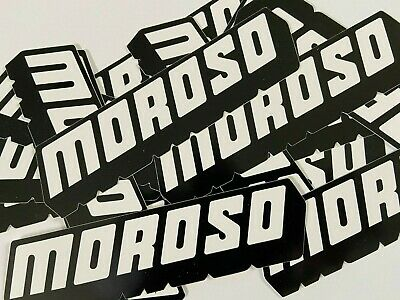Moroso Decals Stickers X 2 Race Ihra Nhra  Hot Rod Chevy Ford Mopar Motorcycle