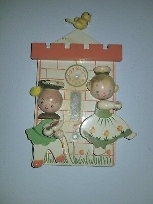 Light Switch Cover - Baby's Room - Cinderella Theme