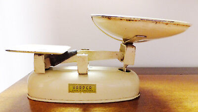 Vintage Harper Kitchen Balance Scales Cream