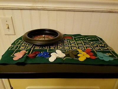 Vintage Rottgames Roulette Made In Usa Ny City