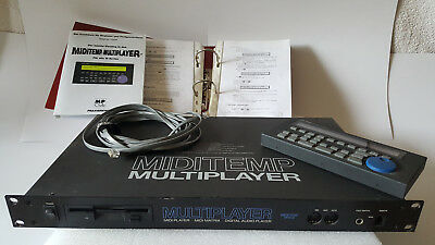 Miditemp MP88W Midiplayer u. Midimatrix, Festplatte mit 1000 Midifiles