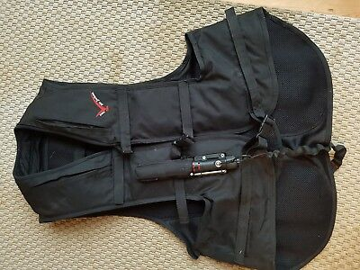 point two air jacket (M) + two canisters