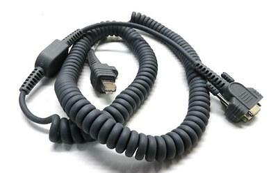 NEW Intermec 236-198-001 RS232 Coiled Serial Scanner Cable 12' (3.6M) SR61T