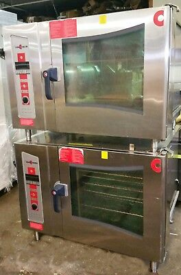Double Stack Natural Gas Combi Oven Convotherm Steamer Convection Oven OGS6.20