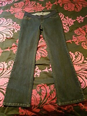 Under bump maternity jeans size 12 blooming marvellous mothercare