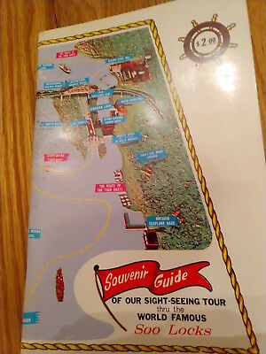 Souvenir Guide of Our Sight-Seeing Tour thru the World Famous Soo-Locks