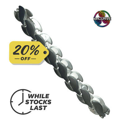 ionCURVE KOKO MAGNETIC / NEGATIVE ION BRACELET FOR LADIES  Free p&p and 20% OFF