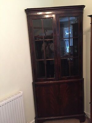 Antique Corner Unit. Over 100 Years Old. In Good Condition For Its Age.