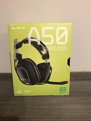 ASTRO A50 Wireless Headset and Base Station for Xbox One - Black/Green