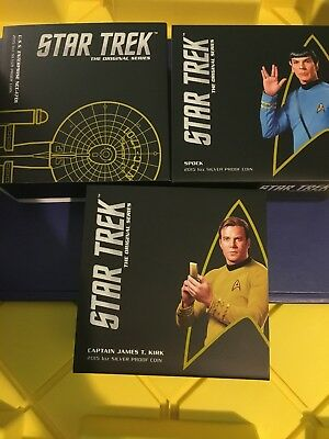 Canada Coin Collection .Australia Mint Perth Mint Star Trek Pure Silver Coin Lot