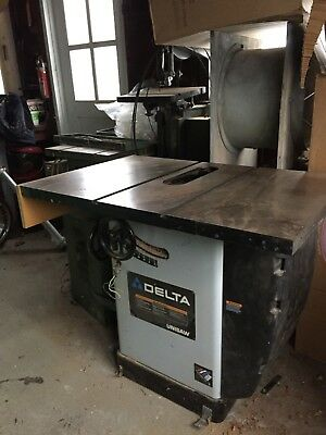 """Delta Unisaw 10"""" Tilting Arbor Saw Classic edition Model 36-815 with Biesmeyer"""