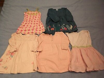 Girls Dresses Bundle 12-18 Months