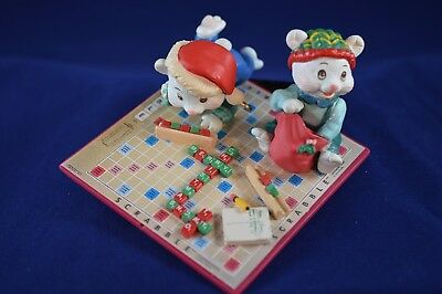 """Scrabble® Ornaments """"25 Points for Christmas"""" • Free Shipping"""