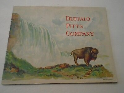 Vintage Buffalo Pitts Co. 1903 Catalogue Threshers Engines Etc Complete 48 Pages