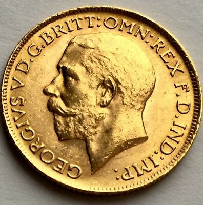 Rare Uncirculated 1911 George V Proof Gold Sovereign In Investment Condition