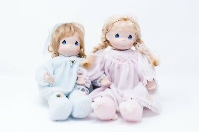 Sisters Keep You Warm With Love, Ashton Drake Precious Moments Pair of Dolls