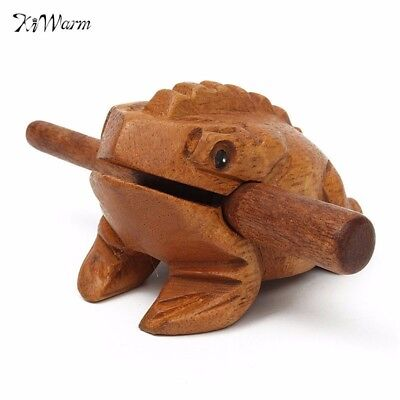 Thailand Traditional Craft Wooden Lucky for Frogs Home Office Decoration Art