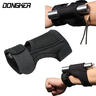 Unisex Arm Flashlight Pouch Outdoor Tactical Airsoft Portable Hunting Mount Arm