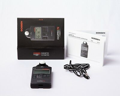 Gossen DigiPro F2 - Flash and Ambient Light Meter - Accurate & Great Condition