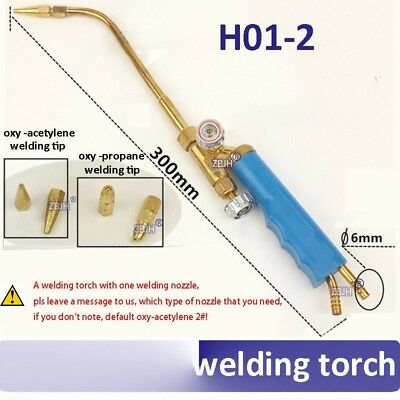 H01-2 oxy-acetylene oxy-propane welding torch oxygen gas welding gun with 1pcs