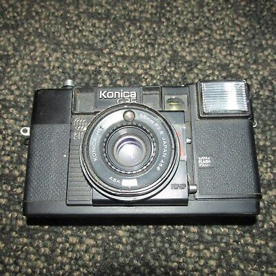 Konica C35 AF 38mm Vintage Auto Focus Camera untested