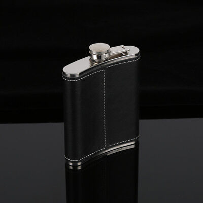 AU Hip Flask 5-9 oz Portable Stainless Steel Wine Whiskey Liquor Alcohol Bottle