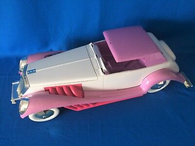 Vintage 1987 Hasbro Jem & The Holograms Glitter & Gold Roadster