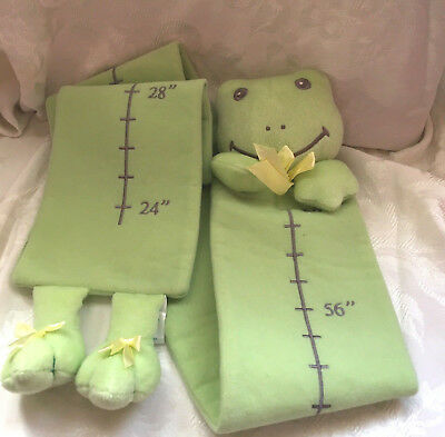 Soft Frog growth Chart-Lambs & Ivy