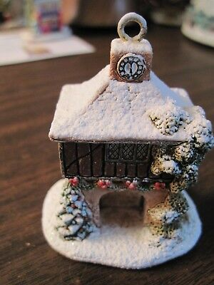 Lilliput Lane Christmas Ornament Festive Times 2013  #L3529 with Deed