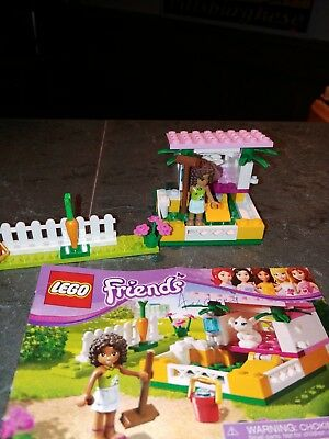 Lego Friends Andreas Bunny House 3938 100 Complete