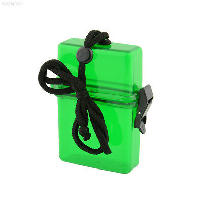 826C 93A7 Swim Waterproof Plastic Container Storage Case Key Box Card Useful NEW