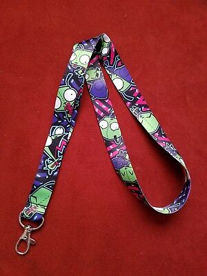 NEW Invader Zim Lanyard *US SELLER* FAST SHIPPING!!