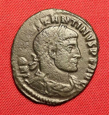 Ancient Roman Bronze AE Follis Coin - Constantinus