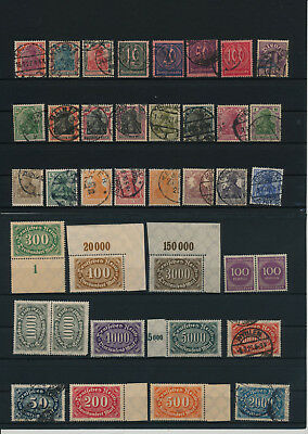 Germany, Deutsches Reich, Nazi, liquidation collection, stamps, Lot,used (KC 15)