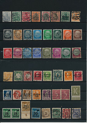 Germany, Deutsches Reich, Nazi, liquidation collection, stamps, Lot,used (KC 18)