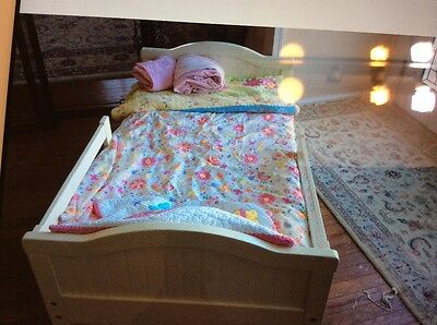 Pottery Barn Kids Toddler Bed, Mattress