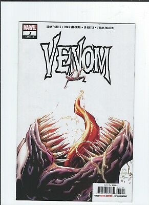VENOM #3 (2018) Donny Cates 1st Appearance Of KNULL SYMBIOTE GOD NM+(9.2+)