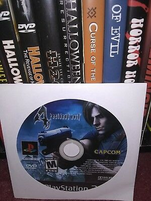 Resident Evil 4 PlayStation 2 Disc Only